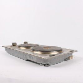 Elektrický sporák Whirlpool stříbrný