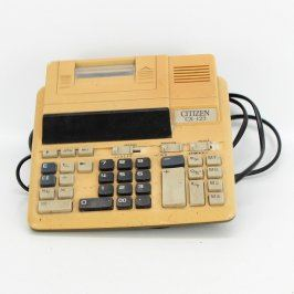 Kalkulačka s tiskárnou Citizen CX-123