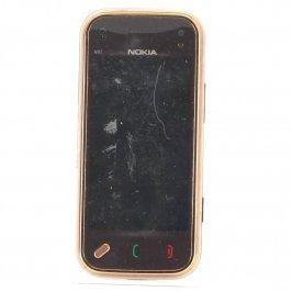 Mobilní telefon Nokia N97 bronzový