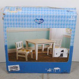 Dětská sada stolečku a židlí Delta Children