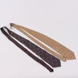 Pánské kravaty 2 ks různých značek