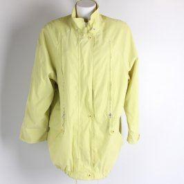 Dámská bunda odstín žluté