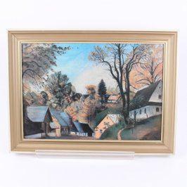 Obraz v rámu Jan Trampota Pěčín