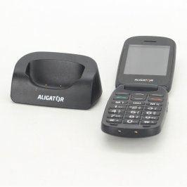 Mobilní telefon Aligator V600 černý