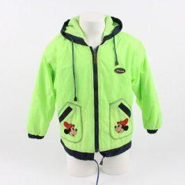 Dětská bunda Artex zeleno černá