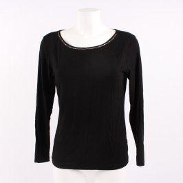 Dámské tričko Faval s dlouhým rukávem černé