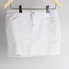 Dámská mini sukně F&F bílá