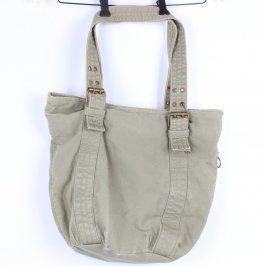 Dámská taška textilní šedá
