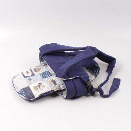 Dětské nosítko modré s obrázky