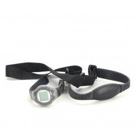 Hrudní pás s měřičem tlaku, tepu a hodinkami