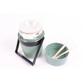 Termoska zelená Vacuum Krásno Flask