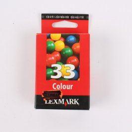 Inkoustová cartridge Lexmark 33 Colour