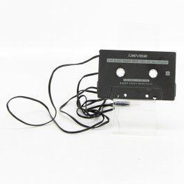 Audiokazeta s jack 3,5 mm iRiver černá