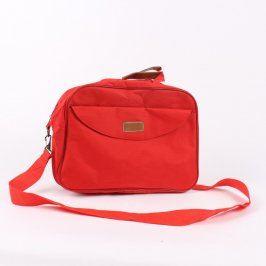 Látková taška červená