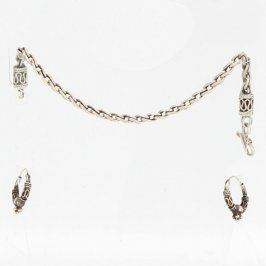 Souprava šperků náramek a náušnice
