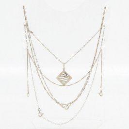 Souprava šperků 2 ks řetízku a náramek