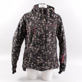 Lyžařská bunda Alpine Pro černá se vzory