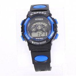 Pánské sportovní hodinky S-Sport modro černé