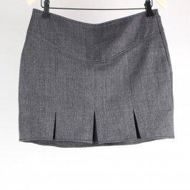 Dámská mini sukně šedá