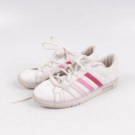 Dámské tenisky Adidas bílé s barevnými pruhy