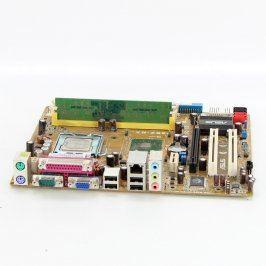 Základní deska Asus P5GZ-MX+Pentium D915+RAM