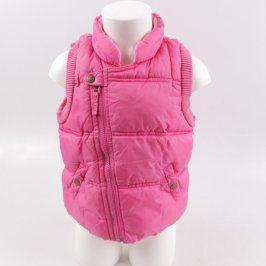 Dívčí vesta Next růžové barvy
