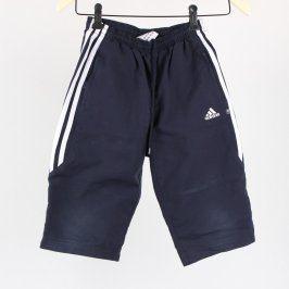 Dětské tepláky Adidas odstín modré