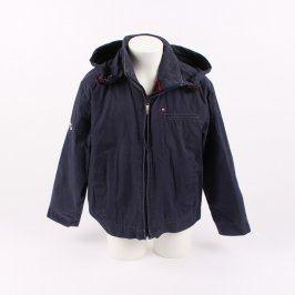 Dětská bunda Tommy Hilfiger odstín modré