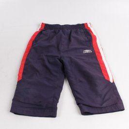 Chlapecké šortky Umbro modré barvy