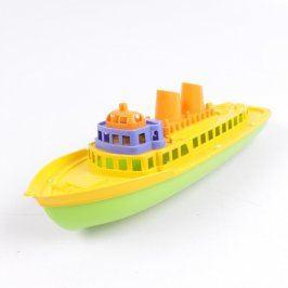 Model dětského parníku plastový