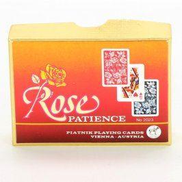 Sada mini hracích karet Rose Patience