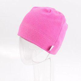 Dívčí čepice růžové barvy