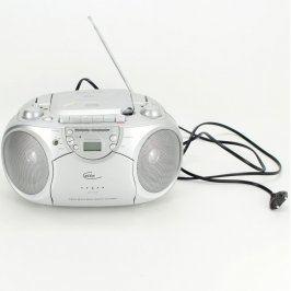 Radiomagnetofon s CD Elta