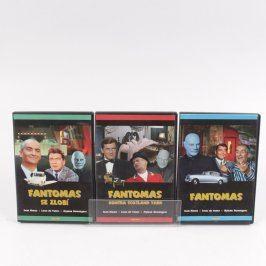 Sada DVD filmů Fantomas 3 díly