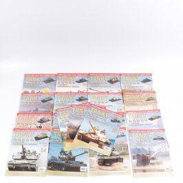 Časopisy Tanky kolekce pancéřových vozidel