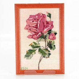 Obrázek v rámu růže 2004