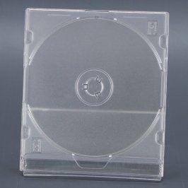 Obal průhledný na CD/DVD