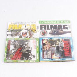 Časopisy Filmag s DVD filmy 2 ks