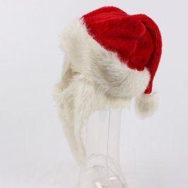 Čepice Santa Clause s plnovousem