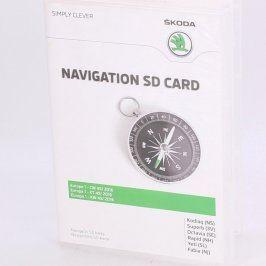 Mapové podklady Škoda 5L0 051 236P SD karta
