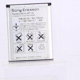 Baterie pro mobil Sony Ericsson BST-33