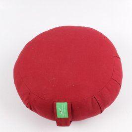 Meditační polštář červený