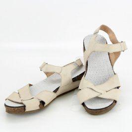Dámské sandále bílé