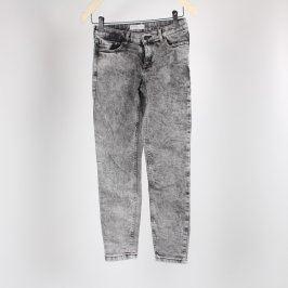 Dámské džíny Lindex odstín černo-bílý