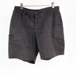 Pánské šortky Baty černé s kapsami
