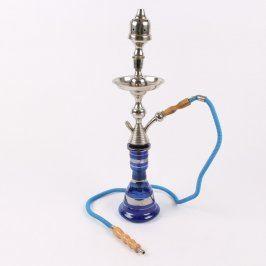 Vodní dýmka modré barvy