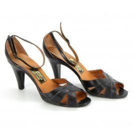 Dámské sandále Snaha Brno černé
