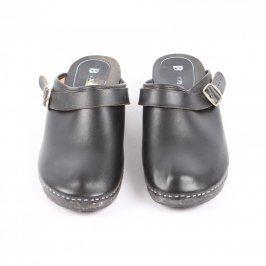 Dámské nazouváky Baxa odstín černé