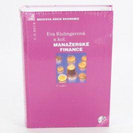 Kniha Manažerské finance - Eva Kislingerová