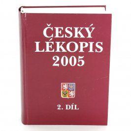 Kniha Český lékopis 2005 2.díl